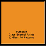 PUMPKIN Fusible Glass Enamel Paint 25 grams