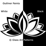 Fusing Glass Enamel Paint Liquid Outliner Set