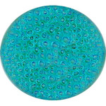 Glass Bubble Paint: Blue Green 1 ounce (28.35 grams) (33710BBG)