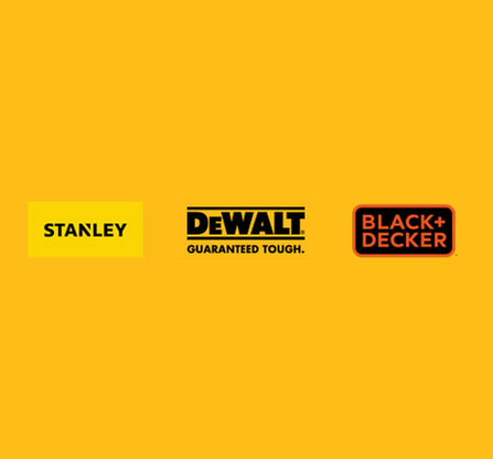 DeWalt Stanley Black & Decker Genuine Replacement Parts Logo
