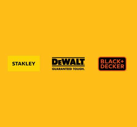 Dewalt Stanley Black & Decker Logos