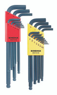 """Set 21 Ball End L-Wrenches In/Mm Double Pack - 10936 (.050-5/16"""") + 10999 (1.5-10Mm) - 20196 - Quantity: 1"""