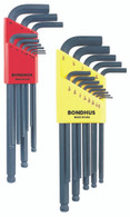 "Set 22 Ball End L-Wrenches In/Mm Double Pack - 10937 (.050-3/8"") + 10999 (1.5-10Mm) - 20199 - Quantity: 1"