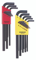 "Set 22 Hex End L-Wrenches In/Mm Long Double Pack - 12137 (.050-3/8"") + 12199 (1.5-10Mm) - 22199 - Quantity: 1"