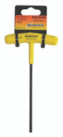"""1/8""""   Hex T-Handle 6"""" Length     Tagged & Barcoded - 45207 - Quantity: 2"""