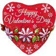 Jumbo Valentine's Day Floral Heart