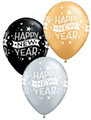 "50 - 11"" New Years Eve Balloons - Helium Filled"
