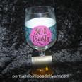 30 & Thirsty Oversized Wine Glass