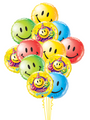Happy Birthday Smiley Faces Bouquet