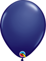 Standard Navy Latex Balloon
