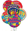 Upgraded Happy Birthday Mylar Bouquet of Balloons
