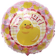 It's a Girl Duck Balloon