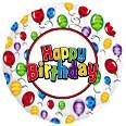 Birthday Balloon Release
