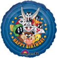 "Looney Tunes Gang 18"" Birthday Balloon"
