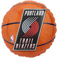 Portland Trail Blazers Basketball Balloon with Logo