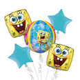 SpongeBob Balloon Bouquet - with Orbz