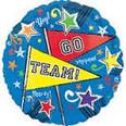 """18"""" Go Team Pennant"""