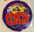 "#1 Coach 18"" Balloon"
