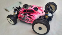Assassin body (clear) for Team Associated RC8B3e