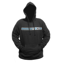"TKRHOODIE04 - Tekno RC ""Stripe"" Hoodie (horizontal design, black)"