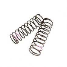 Low Frequency Shock Spring Set (front, 1.6×11.0, 3.82lb/in, 75mm, pink)