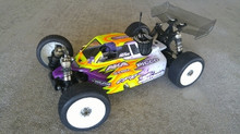 Tactic body (clear) for Serpent SRX8 nitro buggy