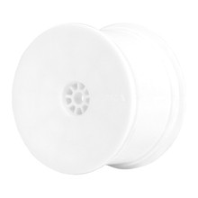 AKA 1:10 HEXLITE 2WD/4WD BUGGY REAR WHEEL WHITE