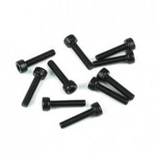 TKR1528 M3x18mm Cap Head Screws (black, 10pcs)