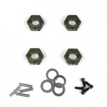 TKR5571A – Wheel Hexes (SCT410,SCT410.3 12mm, EB410 std Width,aluminum, 4pcs)
