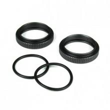 TKR6013 – Shock Adjustment Nut (aluminum, gun metal anodized, 2pcs)