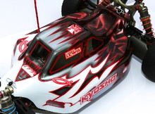 Assassin body (clear) for Kyosho MP9 electric buggy