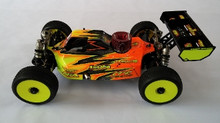 Assassin body (clear) for TLR 3.0 nitro buggy