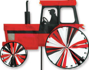 24 In. Modern Tractor Red