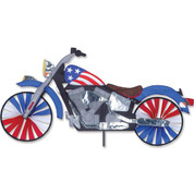 32 In. Motorcycle Patriotic
