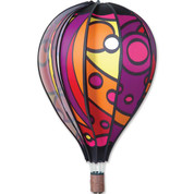"22"" Warm Orb Hot Air Balloon Spinner"