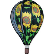 "22"" Sunflower Hot Air Balloon Spinner"
