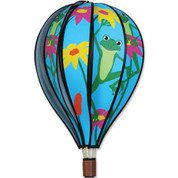 "22"" Frogs Hot Air Balloon Spinner"