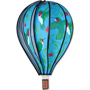 "22"" Hummingbird Hot Air Balloon Spinner"