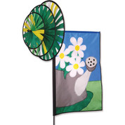 Daisies Triple Spin Banner