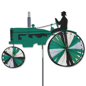 38 In. Tractor Spinner Green