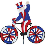 Uncle Sam Bike Spinner