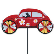 Red 22 In. Hippie Mobile