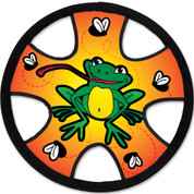 """Frogs 12"""" Freestyle Flyer Kite"""