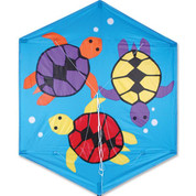 Sea Turtles 56 In. Rokkaku Kite