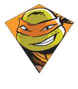 "23"" Michelangelo TMNT Nylon Diamond Kite"