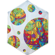 Rokkaku - Rb Orbit Bubbles Kite