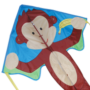 Mikey Monkey Large Easy Flyer Delta Kite