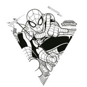 "26"" Spiderman Color-Me Diamond Kite"