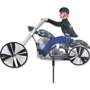 "25"" CHOPPER MOTORCYCLE SPINNER"