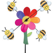 13 In. Bumble Bees Whirligig
